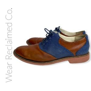 COLE HAAN NIKE AIR Men's Saddle Dress Casual Shoes